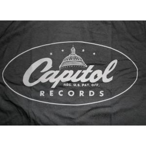 キャピタル レコード Tシャツ Capitol Records OVAL 正規品 mumbles