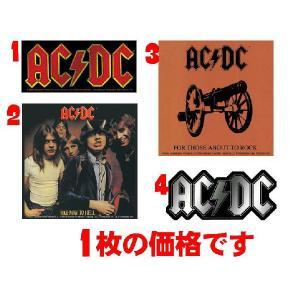エーシーディーシー AC/DC ステッカー 正規品 ACDC ロックTシャツ バンドTシャツ|mumbles