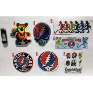 グレイトフル・デッド Grateful Dead ステッカー 正規品 ロックTシャツ バンドTシャツ|mumbles