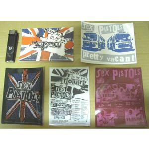 セックス・ピストルズ Sex Pistols ステッカー 正規品 ロックTシャツ バンドTシャツ mumbles
