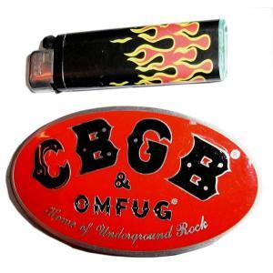 CBGB バックル 赤 正規品|mumbles