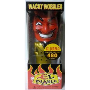 ディアブロ El Diablo Wacky Wobbler 首振り 金スーツ FUNKO|mumbles