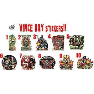 ヴィンス・レイ Vince Ray ステッカー - B 正規品|mumbles