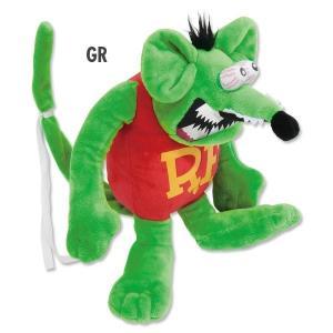 ラット フィンク ベンダブル ドール Rat Fink ぬいぐるみ 緑 グリーン! 正規品 販売 TOY|mumbles