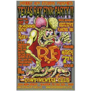 Rat Fink ラット・フィンク ポスター by Johnny Ace Studios PARTY|mumbles