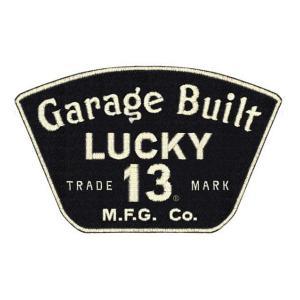 ラッキー13 LUCKY13 パッチ ワッペン GARAGE 13 mumbles