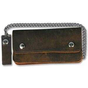 バイカー ウォレット 茶革 レザー財布 USA製 財布|mumbles