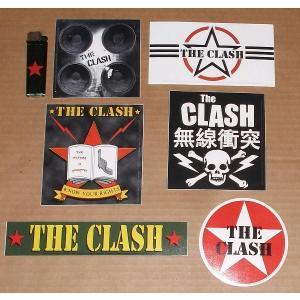 ザ・クラッシュ The CLASH ステッカー - B 正規品 ロックTシャツ バンドTシャツ|mumbles
