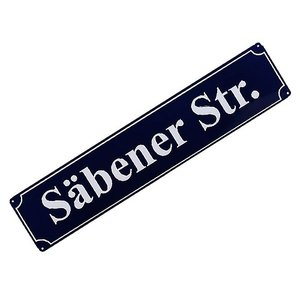 【サッカー バイエルン】【国内未発売】バイエルンミュンヘン オフィシャルグッズ ストリートサイン