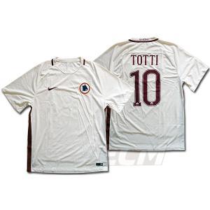 【サッカー ASローマ】ASローマ ホーム 半袖 10番 トッティ|mundial