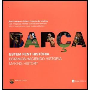 "FCバルセロナ 2010年写真集 ""ESTEM FENT HISTORIA""【リーガエスパニョーラ/FCバルセロナ/BARCELONA/メッシ】ECM14 mundial"