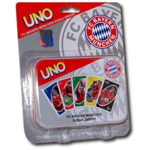 【SALE30%OFF】【国内未発売】UNO バイエルン・ミュンヘンバージョン(05-06)【サッカー/ドイツ代表/Bayern/パーティーゲーム】|mundial