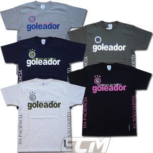 【GOL2016SS】Goleador G1823 サイドメッセージ Tシャツ 【ゴレアドール/フットサル/サッカー】ネコポス対応可能 GOL06|mundial
