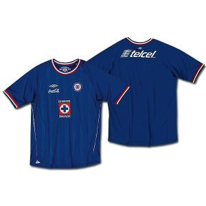 【SALE】クルス・アスル ホーム 半袖【UMBRO/10-11/Cruz Azul/メキシコリーグ】0825 mundial