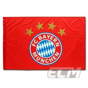 バイエルン・ミュンヘン オフィシャルフラッグ レッド【Bayern Munchen/サッカー/ブンデスリーガ】ネコポス対応可能|mundial