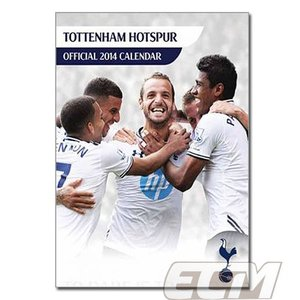 【SALE80%OFF】トットナム 2014 A3壁掛けカレンダー【プレミアリーグ/Tottenham/スパーズ/サッカー】ECM10|mundial
