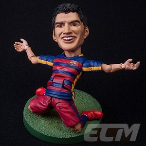 FCバルセロナオフィシャルグッズTOYS ROCKA! FCバルセロナ メッシ、ネイマール、スアレス、イニエスタ フィギュア【サッカー/FC Barcelona/Messi/Suarez/Neymar/|mundial|05