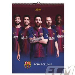 【サッカー FCバルセロナ】【国内未発売】MD社製 FCバルセロナ 2018 A3ポスターカレンダー|mundial