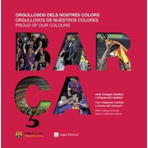"""FCバルセロナ 2012年写真集 """"ORGULLOSOS DELS NOSTRES COLORES""""【リーガエスパニョーラ/バルサ/BARCELONA/メッシ/サッカー】ECM14 FCB74 mundial"""