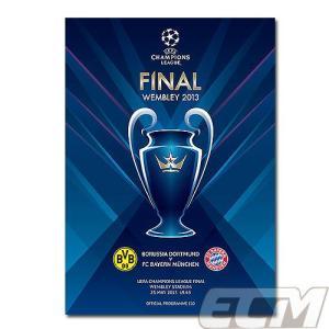 【SALE30%OFF】2013チャンピオンズリーグ決勝プログラム ドルトムント vs バイエルンミュンヘン【サッカー/UEFA CHAMPIONS LEAGUE】メール便発送可能|mundial