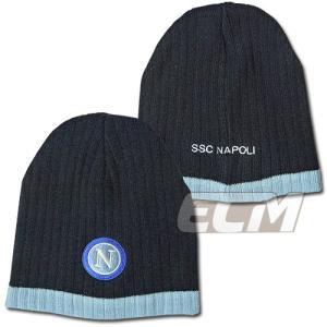 ナポリ オフィシャルニットキャップ ネイビー【Napoli/セリエA/サッカー】330|mundial