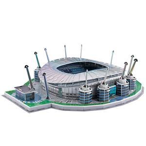 【サッカー マンチェスターシティ】マンチェスターシティ オフィシャルグッズ エティハド スタジアム 3Dパズル|mundial