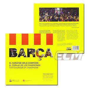 "FCバルセロナ 2013年写真集 ""El CORAJE DE LOS CAMPEONES""【リーガエスパニョーラ/バルサ/BARCELONA/メッシ/ネイマール/イニエスタ/シャビ/サッカー】ECM14-8 mundial"