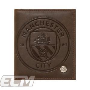 【予約ECM25】マンチェスターシティ オフィシャル ラグジュアリー ウォレット【プレミアリーグ/サッカー/アグエロ/Manchester City/財布】ENG04|mundial