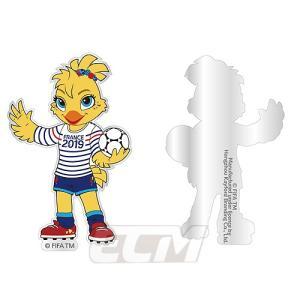 【予約WWC01】FIFA 女子ワールドカップ 2015 カナダ大会 トロフィーマグネット【FIFA公式ライセンス/サッカー/なでしこジャパン/World Cup/日本代表】 mundial