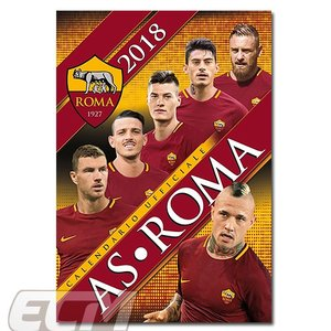 【予約ECM10】ASローマ 2016 ポスターカレンダー(A3)【セリエA/ROMA/サッカー/デ・ロッシ/トッティ】ECM10|mundial