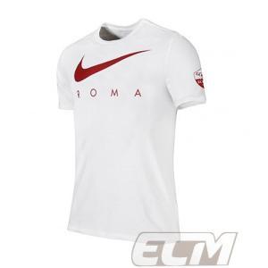 【サッカー ASローマ】【国内未発売】ASローマ 17-18 Tシャツ ホワイト 330 ネコポス対応可能|mundial