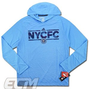 【サッカー MLS】【予約ECM32】ニューヨーク・シティ フーデッドパーカー 330 mundial
