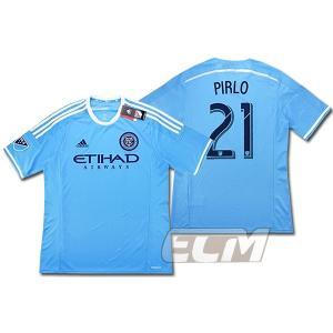 【サッカー MLS】【国内未発売】ニューヨーク・シティ ホーム 半袖 21番ピルロ ECM32|mundial