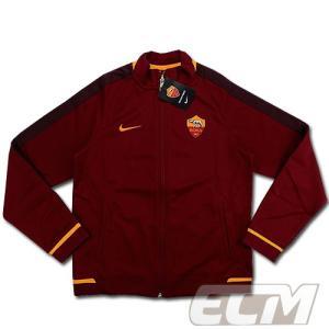 【サッカー ASローマ】【予約ECM32】ASローマ N98 オーセンティックトラックジャケット エンジ ボーイズ 330|mundial
