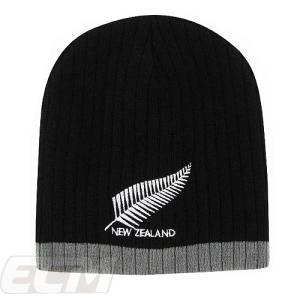 【国内未発売】NEZ19ニュージーランド シンボル ラグビー ニットキャップ 【サッカー/ニュージーランド代表/New Zealand/応援グッズ/ワールドカップ】ECM12 ネコ