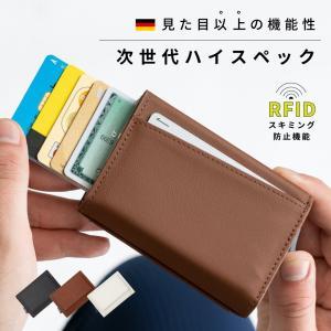 ミニ財布 ブランド メンズ カードケース 牛革 レディース ドイツレザー 三つ折り財布 mura