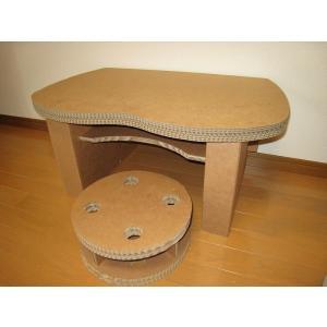 ダンボール机 椅子付 3層強化(送料無料)|muraishiki