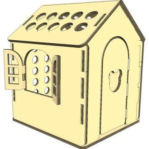 ダンボールハウスmini 3層強化段ボール(送料無料)キッズハウス|muraishiki