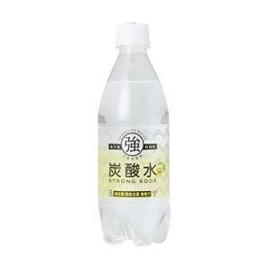 【2ケースセット 送料無料】友桝飲料 強炭酸水レモン 500...