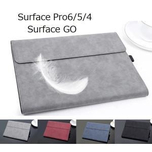 Surface GO Surface Pro6 5 4 ケース 羊革 おしゃれ レザーカバー キーボ...
