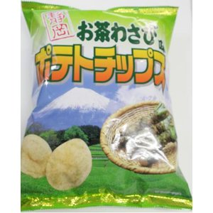 静岡お茶わさび味 ポテトチップス