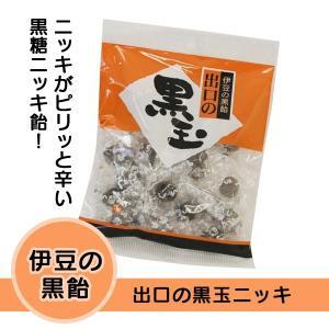伊豆の黒飴 出口の黒玉ニッキ muranoeki