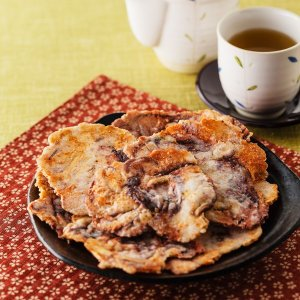 千年井田塩で味わう、たこの唐揚げせんべい ひと塩1袋(60g) muranoeki 03