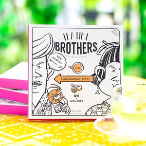 TEA TIME BROTHERS 緑茶×みかんの香り|muranoeki