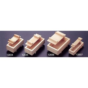 押し寿司器 大(木曽檜)24×10.3×5cm 12035|muranokajiya