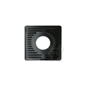 ステンレス黒耐熱 眼鏡板(ガラリ付)2枚組 φ150用/φ180用[No.13204/No.12913] muranokajiya