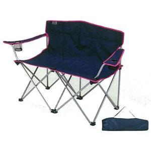【ここがポイント!】  ・二人並んで座れる折りたたみ椅子。 ・お花見、ピクニック、運動会に大活躍! ...