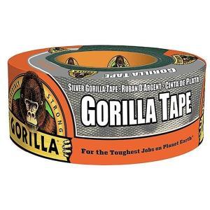 【ゴリラ】テープ シルバー 超強力多用途ダクトテープ 幅48mm×長さ11m×厚さ0.43mm(KURE-E-1775)|muranokajiya