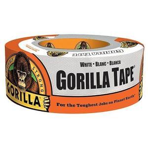 【ゴリラ】テープ ホワイト 超強力多用途ダクトテープ 幅48mm×長さ11m×厚さ0.43mm(KURE-E-1777)|muranokajiya