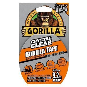 【ゴリラ】テープ クリスタルクリア 強力防水超耐久接着テープ 幅48mm×長さ8.2m×厚さ0.18mm(KURE-E-1778)|muranokajiya